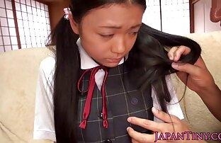 Giovane ragazza giapponese ha accettato di sesso con due signori, perché una grande quantità di sperma video prono amatoriale